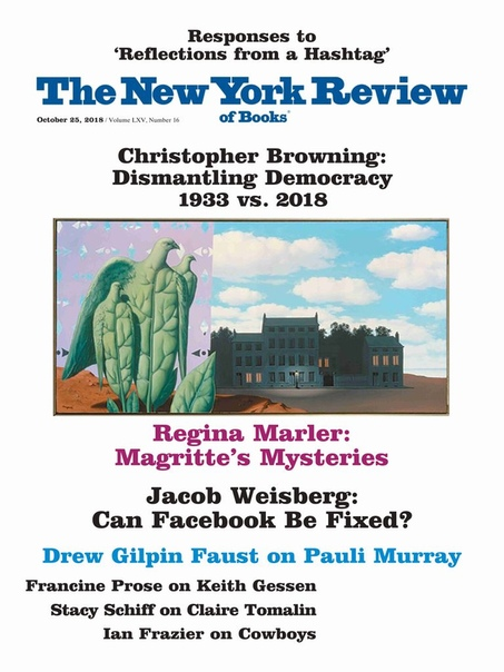 2018-10-25 The New York Review of Books
