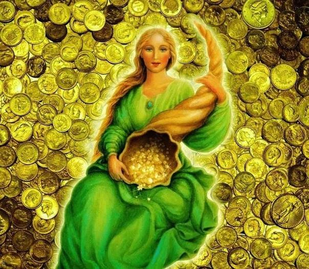 Картинки богиня счастья
