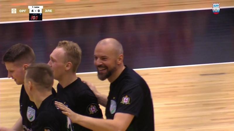 Хет-трик Николая Ходова в матче с Элекс-Фаворит.