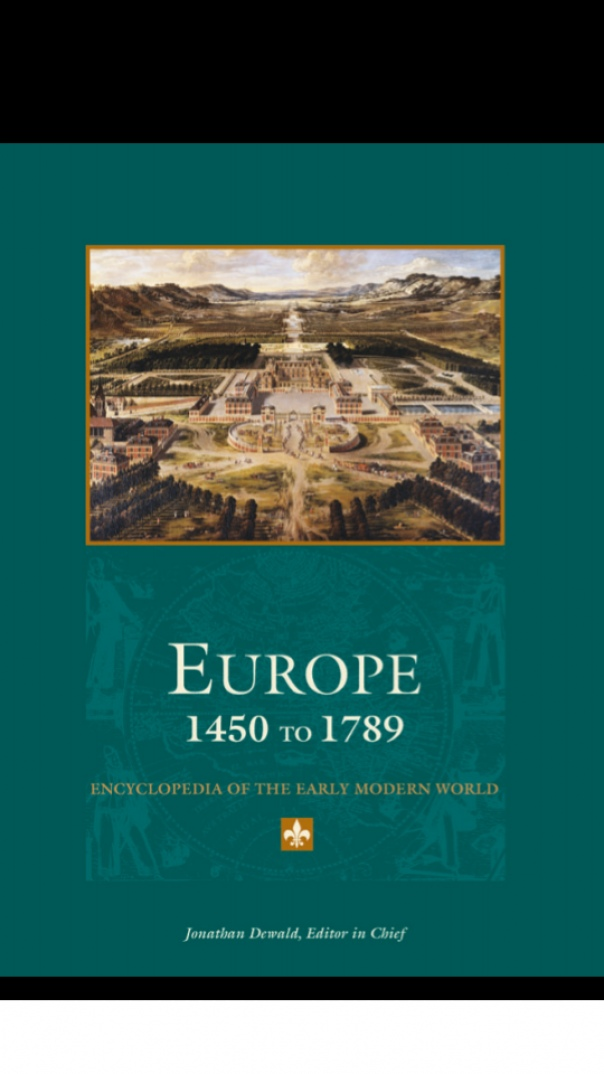 Gale - Europe 1450 to 1789 Volume 1