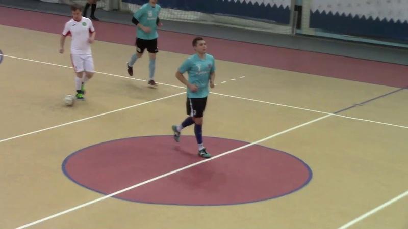 Технолог — БелГАУ (27.01.2019) Чемпионат Белгорода по мини-футболу JOMA RUS 2018-19