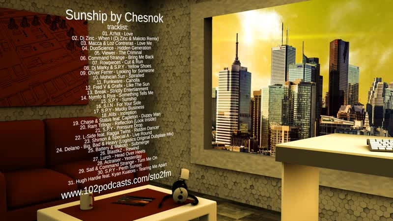 TEASER - Сто2 FM - Sunship by Chesnok