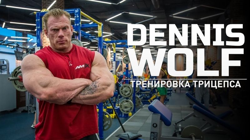 Мастер класс Dennis Wolf Тренировка трицепса