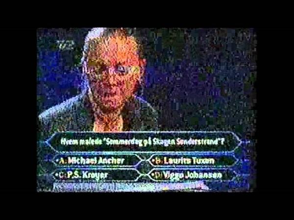 Hvem vil være millionær? (Дания, 11 сентября 1999)