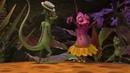 Танцующий хамелеон Прикольный мультик для детей