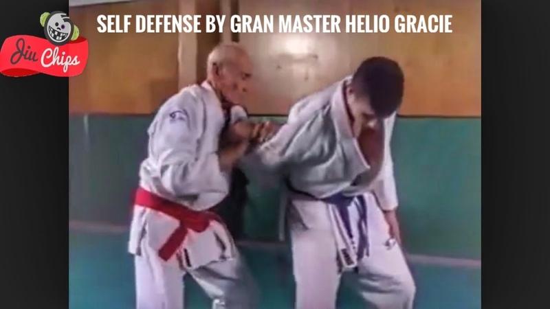 Defesa pessoal ensinada pelo mestre Helio Gracie