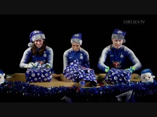 Spare a thought for goalkeepers this christmas, its not easy wrapping presents!