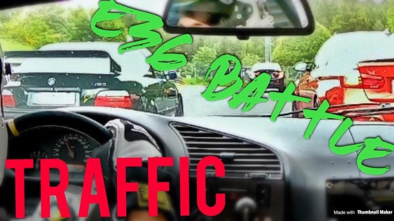 E36 3.2l Battle!! l Heavy traffic l Nürburgring Nordschleife with our Tracktools l BTG Trackday l