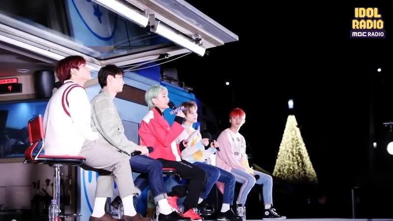 [BACKSTAGE] 190529 Ильхун, Джинхо и Хуи (PENTAGON), Мунбин и MJ (ASTRO) @ MBC Idol Radio