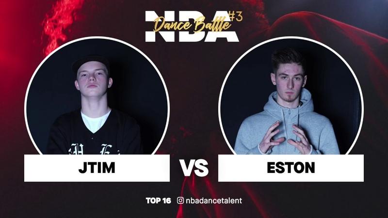 NBA Dance Battle 3 TOP 16 GUESTS Eston vs J Tim