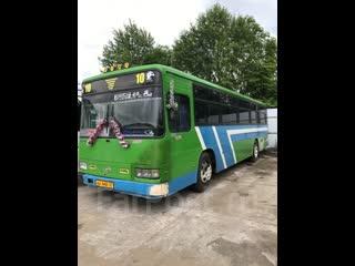Мая рабочая Лошадка готовлюсь к выезду на линию ) (Обычный рабочий день ) Марка Автобуса Daewoo BS106 ..1990.года