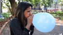 Erica Blow To Pop 3 Small party balloons