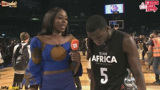 NBA Africa MVP Victor Oladipo Postgame Interview with Chiney Ogwumike