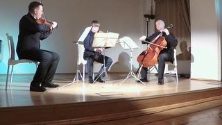 И.С.Бах, Гольдберг Вариации для струнного трио , , Башмет-Центр, Большая Полянка 45,