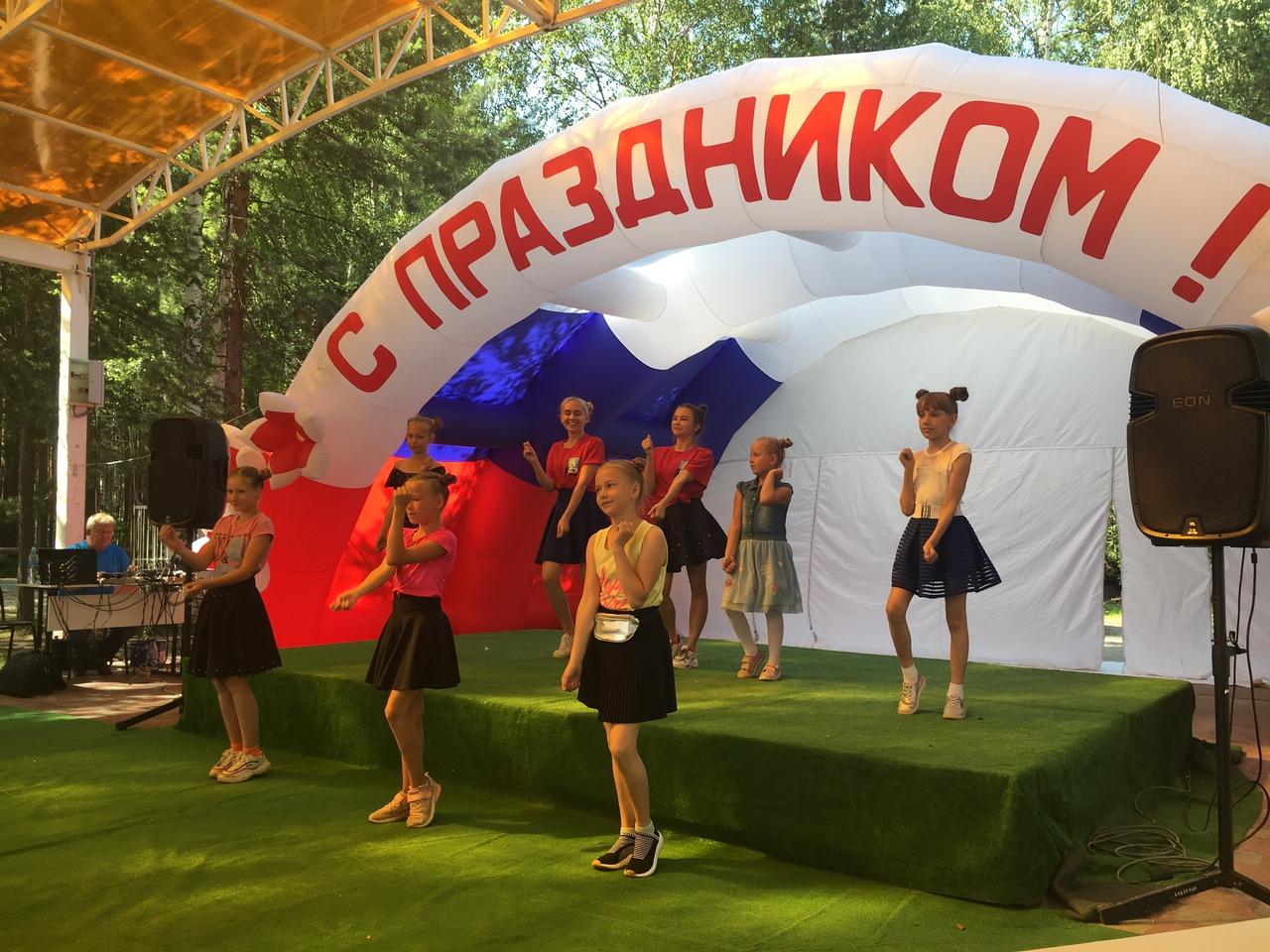 В парке культуры и отдыха состоялся городской конкурс «Я - самый лучший вожатый»