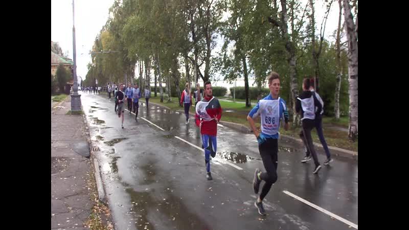 Кросс нации -2019. Возрастная группа 15-19 лет.4 км.