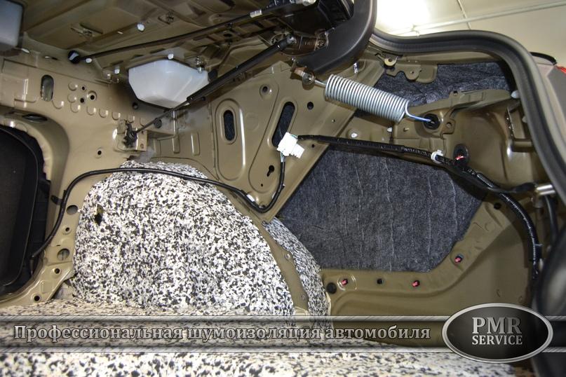 Комплексная шумоизоляция Toyota Camry, изображение №12