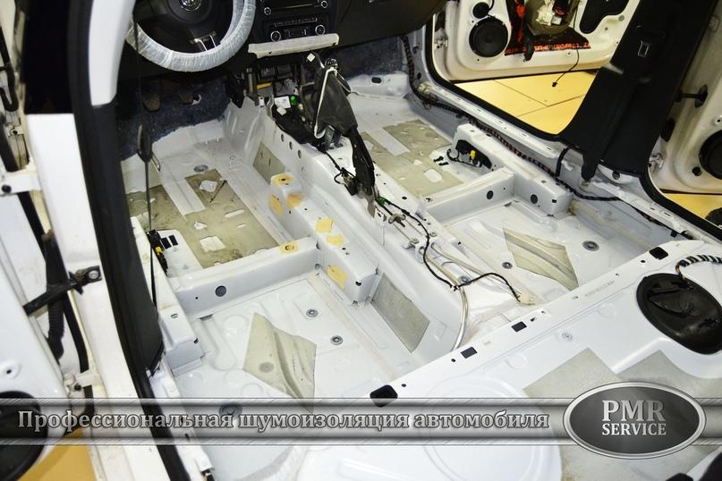 Комплексная шумоизоляция Volkswagen Jetta, изображение №2