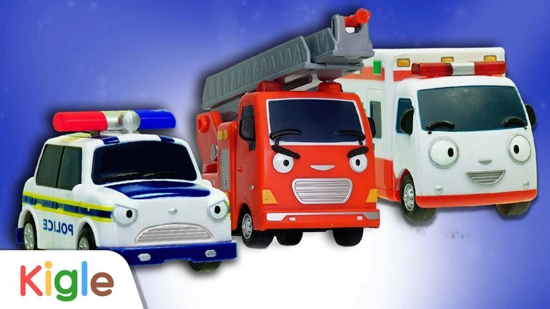 Tayo Job Adventure l Emergency car Special l Nonstop l 12min l Tayo the Little Bus l KIGLE TV