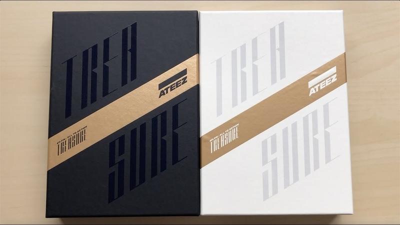 РАСПАКОВКА ATEEZ 에이티즈 1st Studio Album Treasure EP.FIN All To Action (A Z Ver.)♡