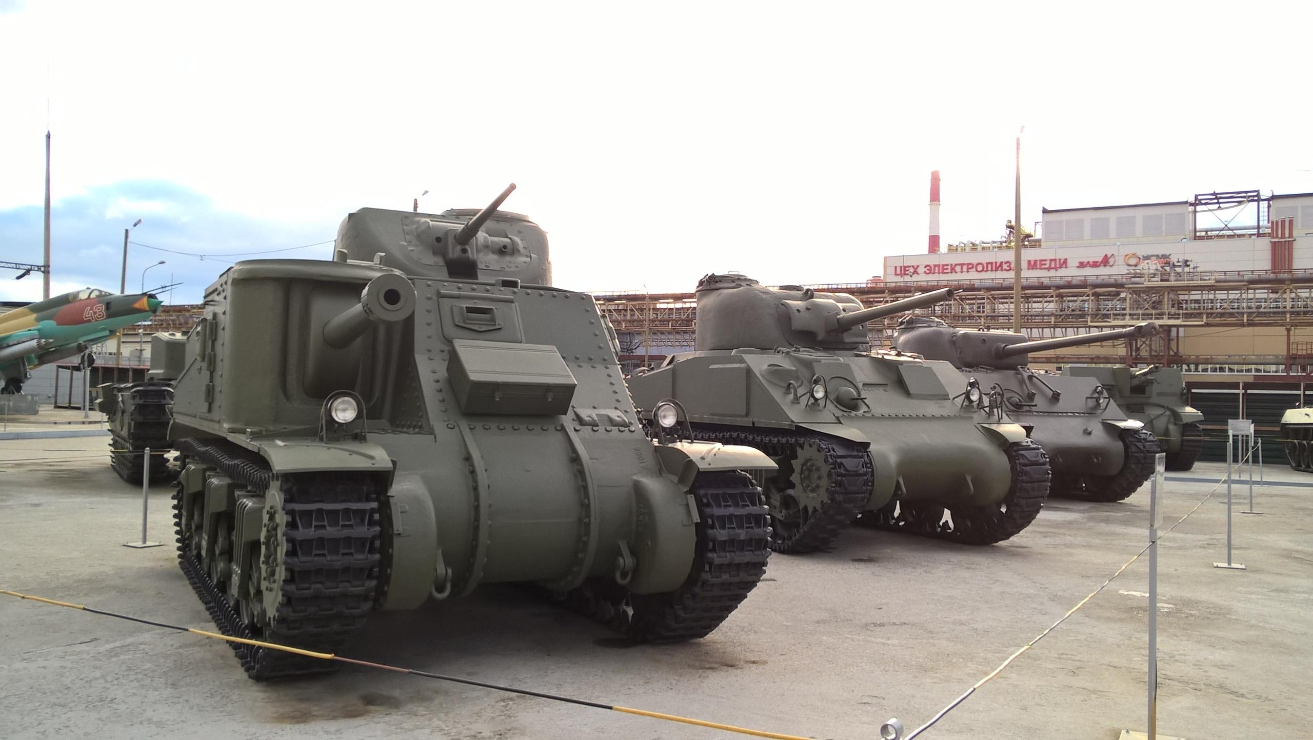 В музее военной техники в Верхней Пышме