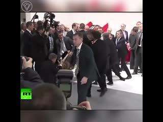 Нападение на Путина