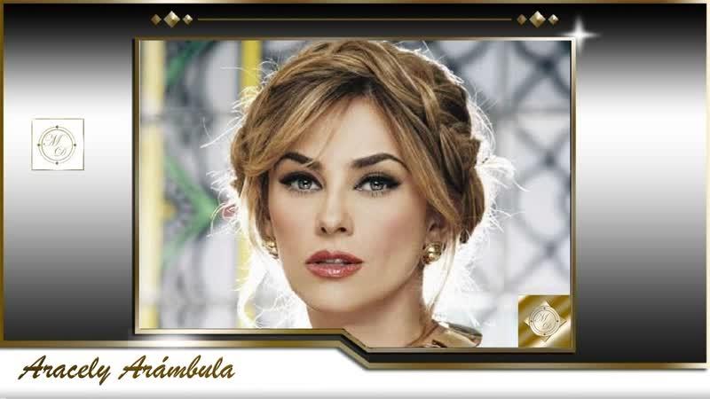 Aracely Arámbula Canta Mi Lupita Escrita por Caridad Castañeda HD
