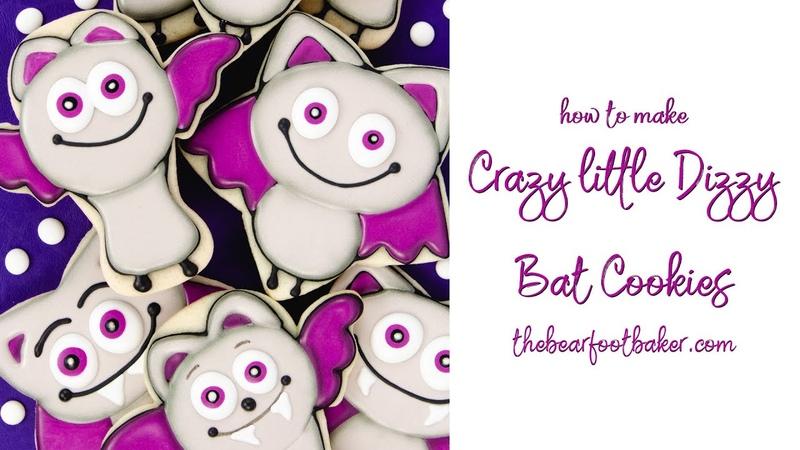 How to Make Crazy Little Dizzy Bat Cookies | The Bearfoot Baker