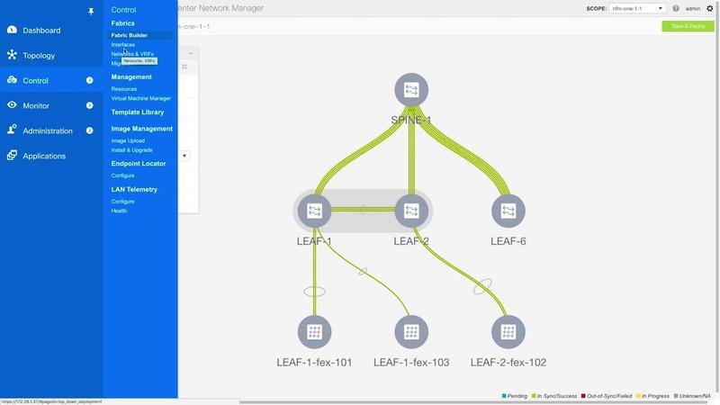 Видео Migrating an NFM-Managed VXLAN BGP EVPN Fabric to DCNM 11.0(1) смотреть онлайн