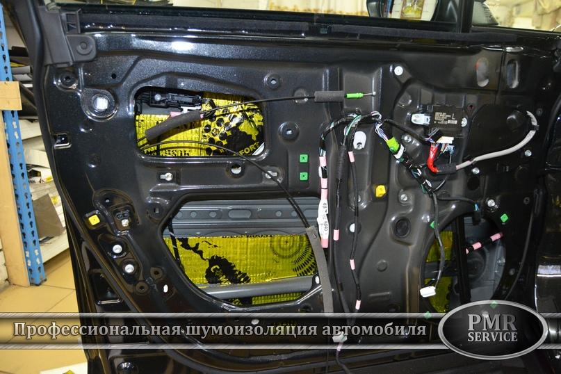 Шумоизоляция Lexus LX, изображение №12