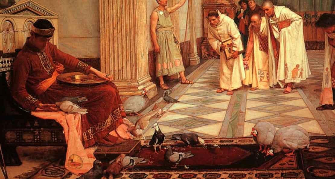 Император и священные куры
