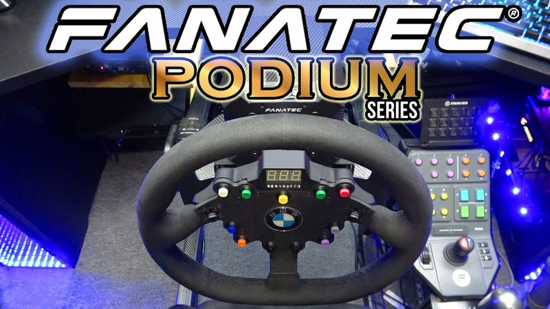FANATEC PODiUM WHEEL BASE DD2 ..