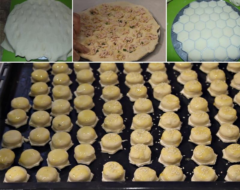 Пирожки-малютки за 20 минут: вкусный и быстрый перекус