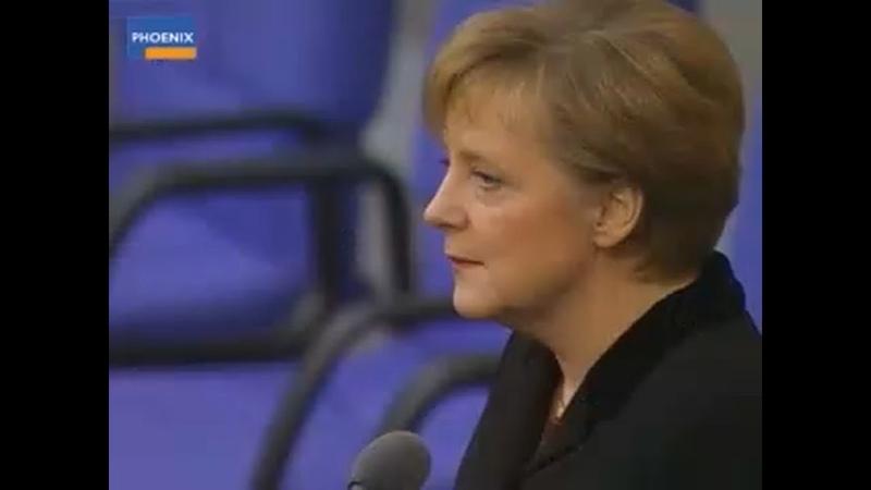 Machtwechsel von Gerhard Schröder zu Angela Merkel 2005