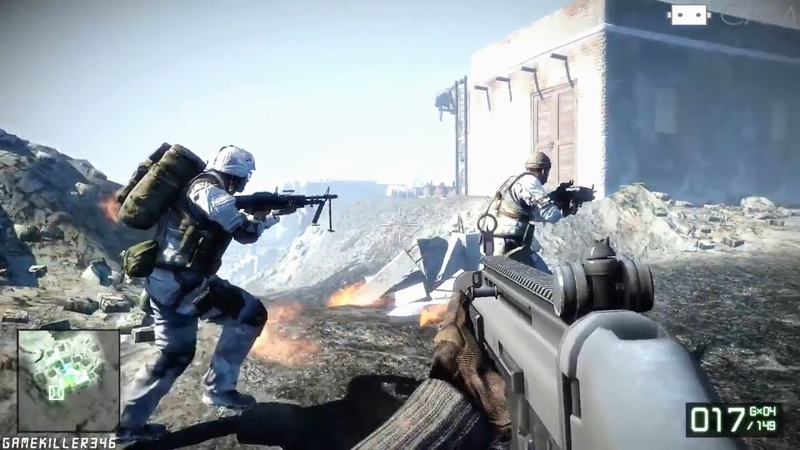 Battlefield Bad Company 2 ойнаймыз. Казакша летсплей