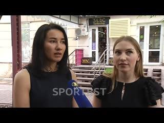 Аделина Загидуллина и Анастасия Иванова рассказывают про эмоции после победы на чемпионате мира!