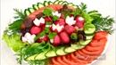 Овощная Нарезка Оригинально Просто и Красиво Beautiful Vegetable Cutting