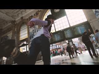 Portugues vibe #1 | sao bento railway station | my freestyle dance