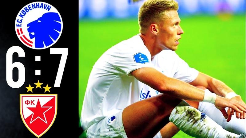 🔥Kopenhagen - Crvena Zvezda 1:1 (pen.6-7) Champions League Highlights 13.08.19🔥