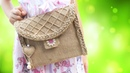 How to make fashion bags for women in simple way from Jute rope