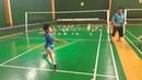 Galva s badminton forehand safety training