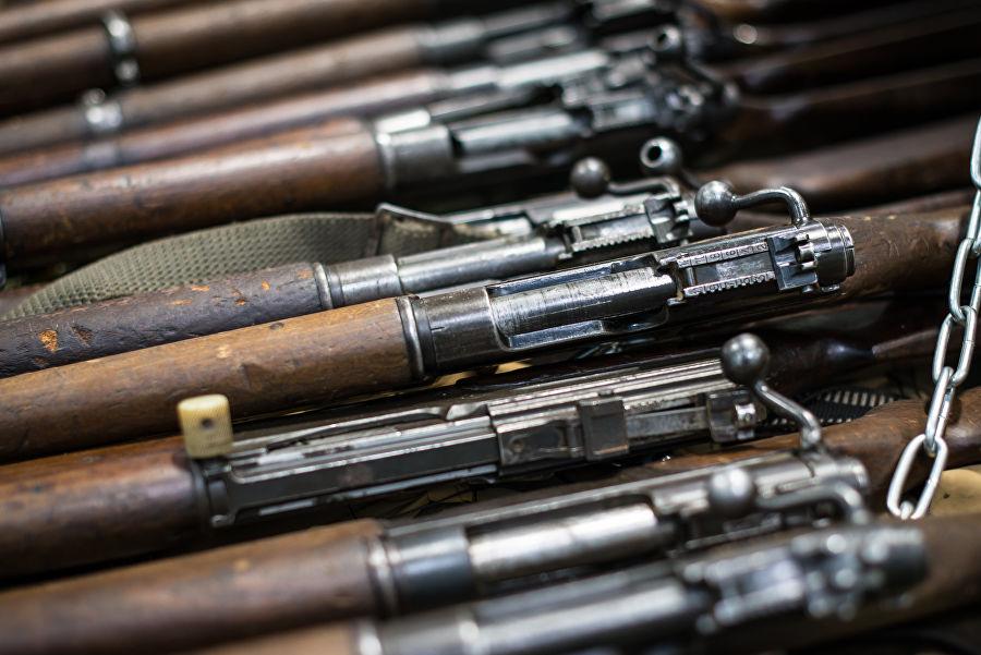 Трофеи из «песочницы»Репортаж c выставки вооружений сирийских боевиков, изображение №33