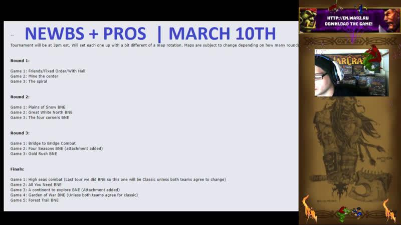 Warcraft 2 Newb Pro Tournament