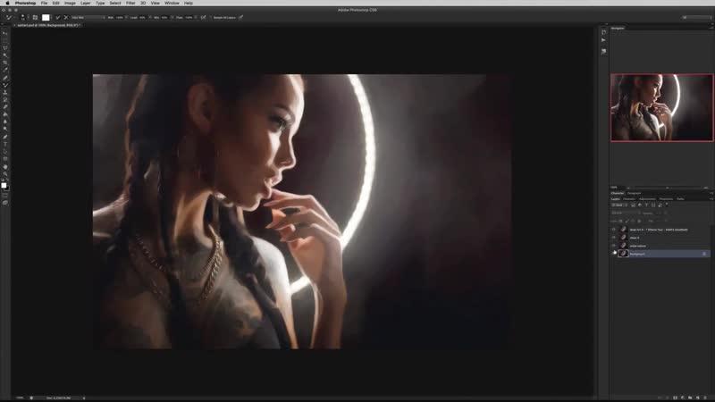 Artmassfera в стиле pop-art для помещения. SplitArt – спидарт обработка портрета. (Макс Твейн)