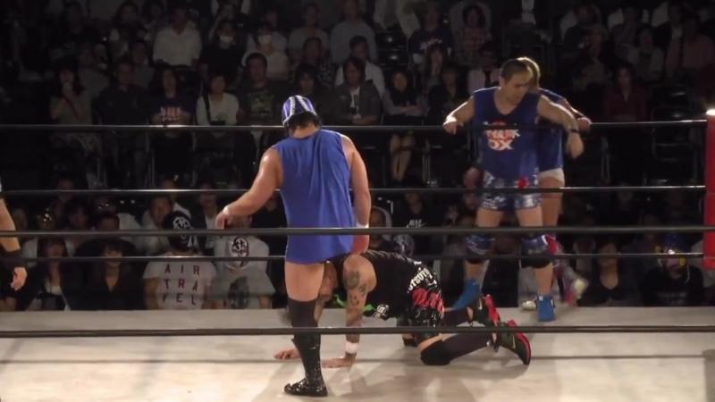 Dick Togo MEN's Teioh Shiryu TAKA Michinoku vs FUJITA KIKUZAWA MAZADA NOSAWA Rongai Tokyo Gurentai Tokyo Carnival 2018