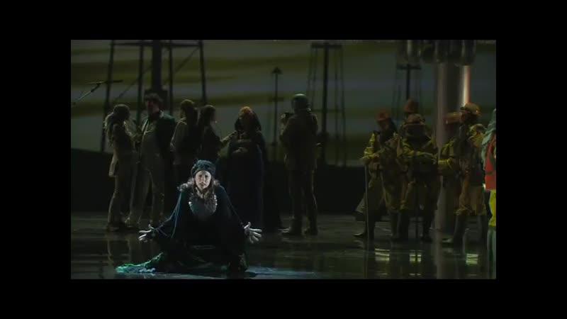 """Delphine Galou, Vivaldi, lincoronazione di Dario, """"Ferri, ceppi, sangue, morte"""