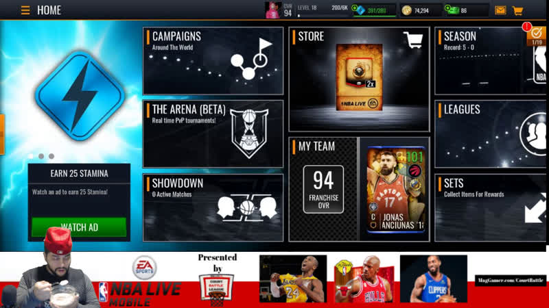 NBA Live Mobile better than any Basketball demo that came out today