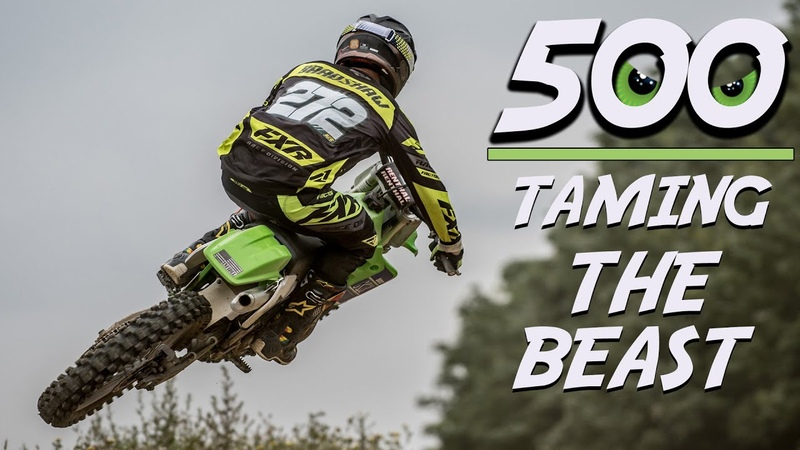 This Is How You Ride a KX500 RAW Insane 2 Stroke Motocross