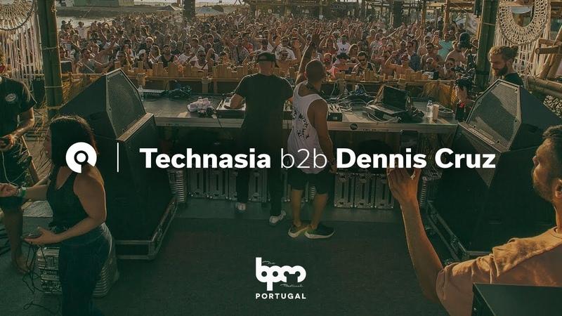 Technasia b2b Dennis Cruz @ The BPM Festival Portugal 2018 BE