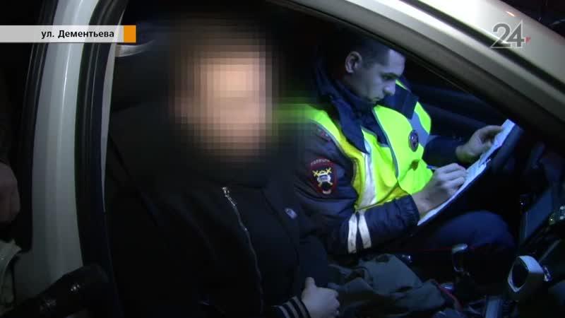 В Казани после погони задержали молодого человека без прав на каршеринговом авто